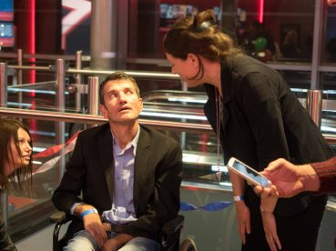 Fans had the chance to meet Joost van der Westhuizen after the screening