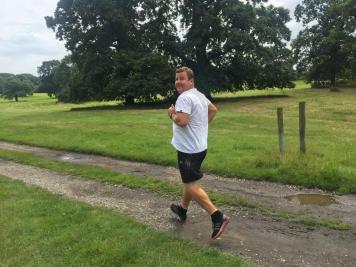 Dean Collins running