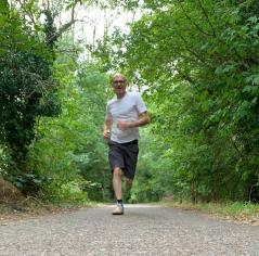 Richard Brown running